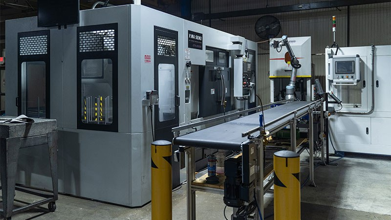 GMT Corporation CNC Machine with Robotic Technology