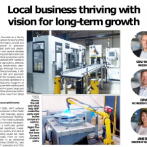 Local Business Thriving with vision for long-term growth